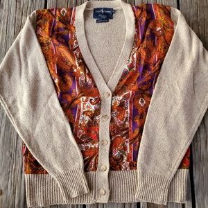 Vintage Ralph Lauren Silk Cardigan Size Medium